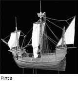 Pinta ship from Columbus' fleet