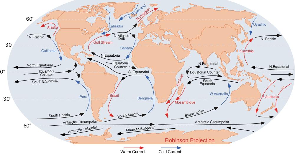 Institute For Global Environmental Strategies K Oceans Water - Earth's four oceans